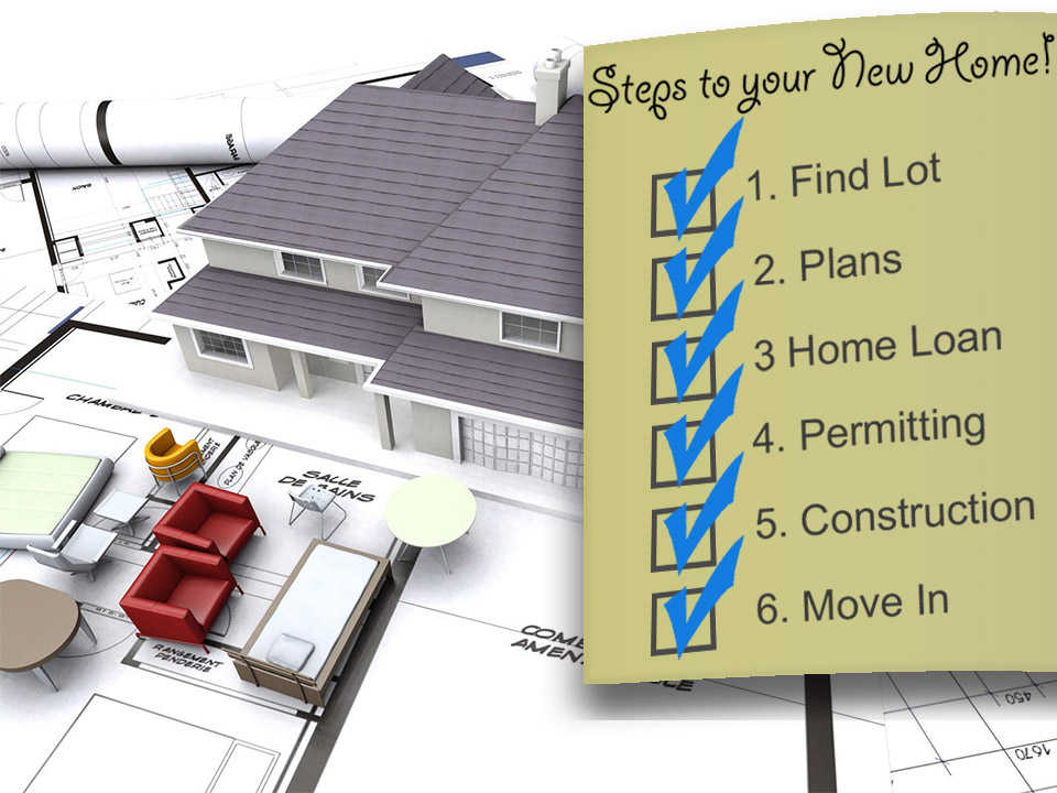 Standard features list for southern traditional custom for Steps to building a house checklist